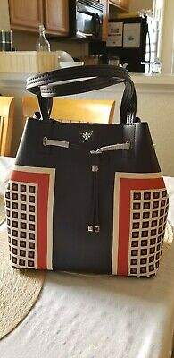 fed69ab6684 NWT Tory Burch Kerrington Drawstring Tote Handbag in Milano Square  275 AUTH