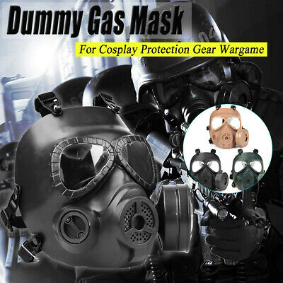 CS Edition Gas Mask Filter Fan  Perspiration Dust Eye Protect Face Guard
