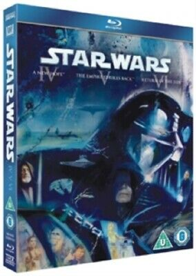 Star Wars Trilogy Episode 4 5 6 Four Five Six (Mark Hamill) New Region B Blu-ray