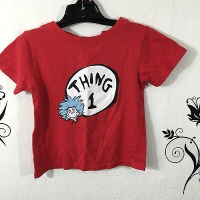 Dr. Suess Bumpkins Thing One T Shirt 24 Months Big Brother Sister Tee