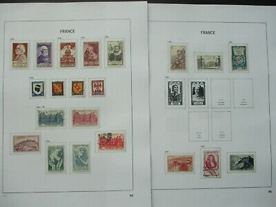 ESTATE: French Collection on Pages - Must Have!! Excellent Item! (p1089)