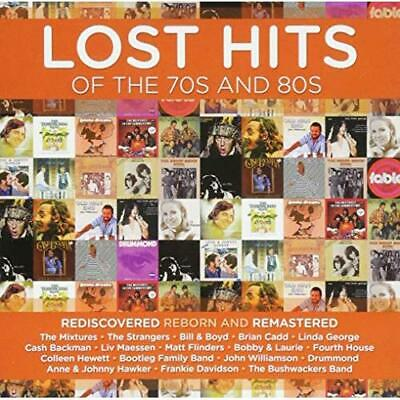 Lost Hits Of The 70s And 80s Various Artists Audio CD