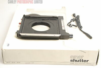 Sinar Copal  Shutter and Release. Boxed (521.31). Condition - 4E [6581]