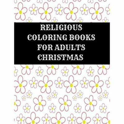 RELIGIOUS COLORING BOOKS For Adults Christmas: Christian ...