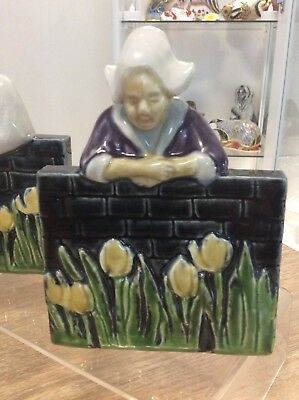 Rookwood Book End Dutch Girl Circa 1940.s Excellent Condition Sarah Toohey