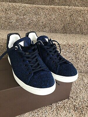 fe5db13156db ... Auth Louis Vuitton Mens Shoes Sneakers Us Size 9.5 Made In Paris ...