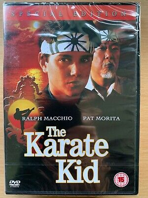 The Karate Kid 1984 Original Martial Arts Classic UK Special Edition DVD BNIB