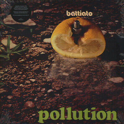 Franco Battiato - Pollution (Vinyl LP - 1972 - US - Reissue)