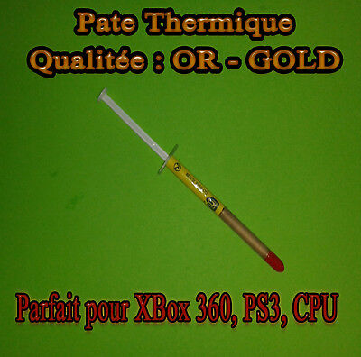 Pate Thermique OR - GOLD CPU INTEL, AMD, CPU , GPU , PS3 , XBOX 360