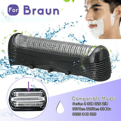 For Braun Series 3 32B 32S 21B 3090cc 3050cc 3040s 3020 Shaver Replacement Foil