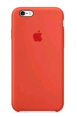 SPICY ORANGE OFFICIAL REAL APPLE iPhone 6 6s 4.7