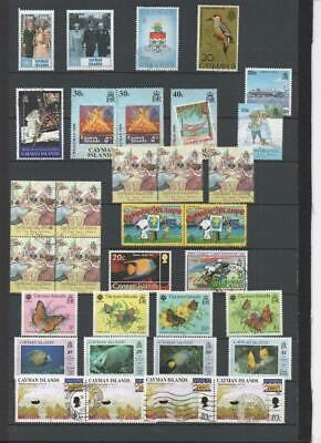 Cayman Islands Qe2 Collection On 3 Pages