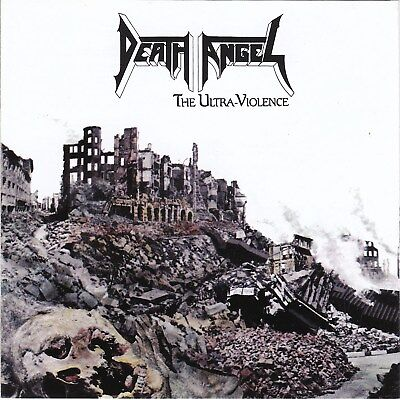 Death Angel – The Ultra-Violence RARE NEW CD! FREE SHIPPING!