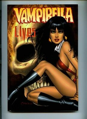 Vampirella Lives Hardback - Harris Comics 2001 - NM-