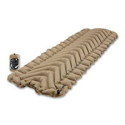 Klymit Static V Lightweight Sleeping Pad, RECON Coyote-Sand - 06IVCy01C