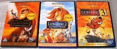 The Lion King Trilogy on DVD