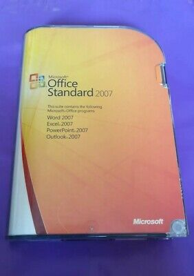 Microsoft Office  2007 Standard Full Version Word Etc Genuine With Product Key