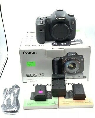 Canon Eos 7D Digital Camera Body - Shutter Count 75K - Excellent