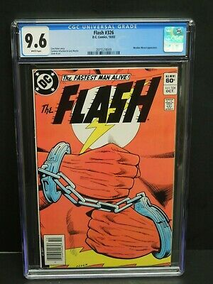 Dc Comics Flash #326 1983 Cgc 9.6 White Pages - Weather Wizard Appearance
