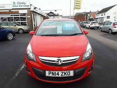 2014 VAUXHALL CORSA 1.2 SXi 3 Door From £5,495 + Retail Package