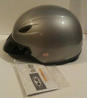 Black HJC Solid Mens CL-Ironroad Cruiser Motorcycle Helmet X-Small