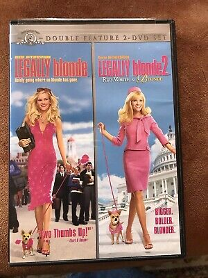 Legally Blonde One And Two, Dvd Movies