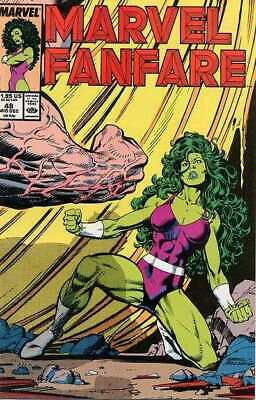 Marvel Fanfare (1982 series) #48 in Near Mint condition. Marvel comics [*np]