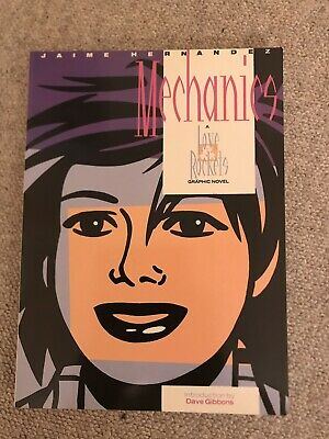 Love And Rockets: Mechanics - Graphic Novel By Jaime Hernandez