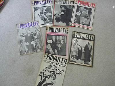 Job Lot/Bundle of Private Eye Magazines from 1979