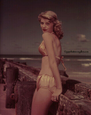 Bunny Yeager Color Camera Transparency Photograph Alta Whipple Bathing Beauty NR