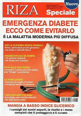 Riza Special 2018 6.Emergenza Diabetes-Here come avoid it