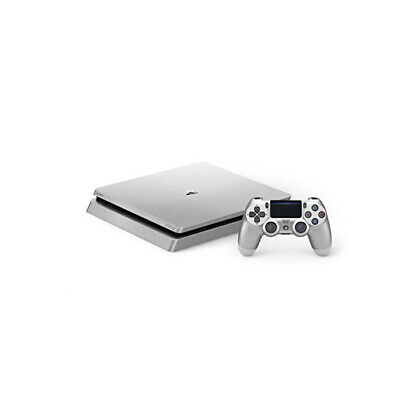 SONY PlayStation 4 Slim 500 GB Konsole + 1 Wireless Controller PS4 silber B-WARE