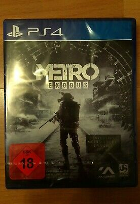 Metro Exodus - Day One Edition [PlayStation 4] NEU !!!!