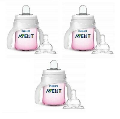 5 Oz Clear SCF262//04 Philips Avent My Natural Trainer Transition Cup 4m