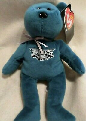 850a3640793 TY BEANIE BABY - NFL Football Bear - PHILADELPHIA EAGLES (8.5 inch ...