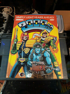 2000AD Annual 1987 FREE POSTAGE