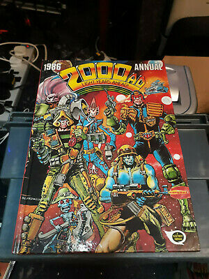 2000AD Annual 1986 FREE POSTAGE