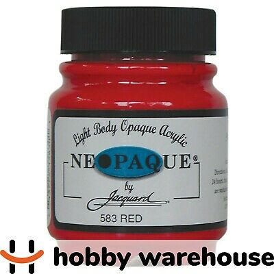 Jacquard Neopaque Acrylic - Red 70ml