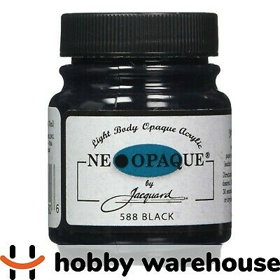 Jacquard Neopaque Acrylic - Black 70ml