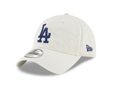 f64e0efc LOS ANGELES DODGERS Strapback New Era 9Twenty Blue LA Beige Hat Cap