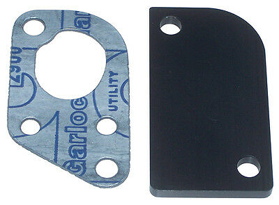 AtkinsRotary EGR Block Off Plate With Gasket (ARE8903) Rx7 Rx-7 1986 To 1988