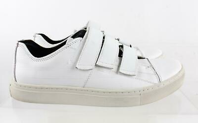 Kenneth Cole Reaction Blurred Vision White Leather Men s Sneakers SZ 10M 5b09c1d60