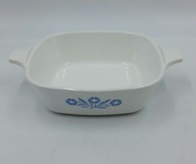Corning Ware Blue Cornflower Petite Pan Casserole P-41 USA Made