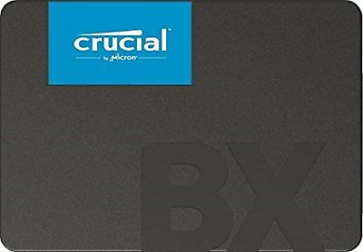 """CRUCIAL BX500 2.5"""" 540 MB / s Lesen Solid State Drive 120 GB SSD Neue sm GR"""