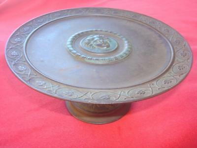 Beautiful 19th Century French Patinated Bronze Tazza Compote style Very French