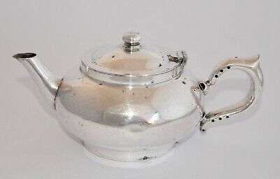Vintage Challenge ROBUR Silver Plate Small Perfect Tea Pot with Infuser 450ml