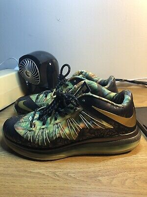 new products 4aca0 61dc8 Nike Air Lebron 10 X Low Championship Pack High Alternate Size 9.5  Celebration