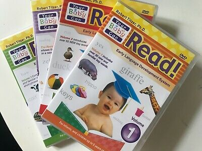 YOUR BABY CAN READ DVD SET Early Language Development System