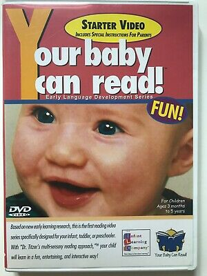 your baby can read starter DVD