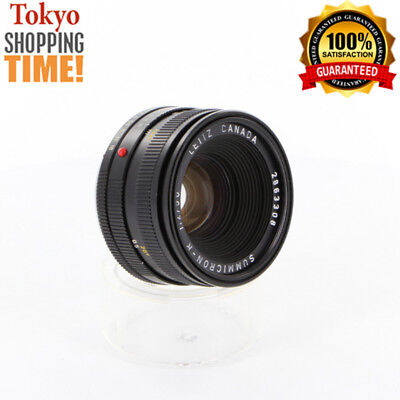 [EXCELLENT+++] Leica Summicron-R 50mm F/2 Lens from Japan